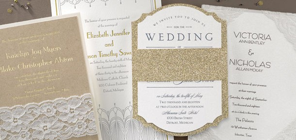 What's new in wedding paper?